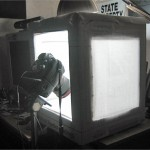 Make An Inexpensive Light Tent for Shooting Miniature Football Players