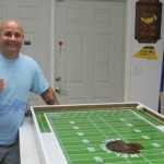DIY Scale Size Warrior TOC Electric Football Field