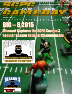 SCPC Gameday JULY 2015